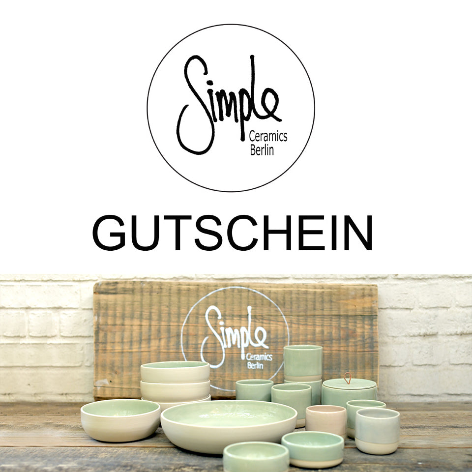 Simple Ceramics - Gutschein