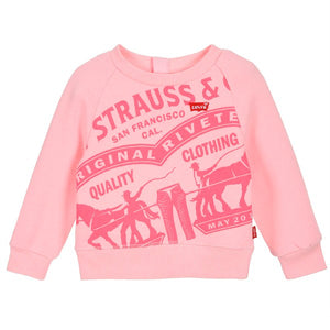 Sweat-shirt Enfant Levi's RAGLAN CREWNECK