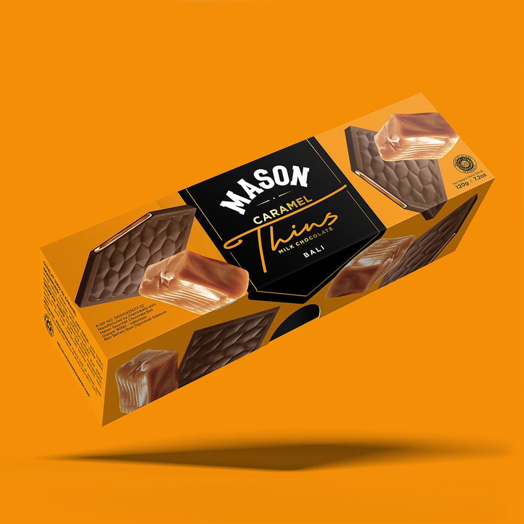 Caramel Milk Chocolate Thins