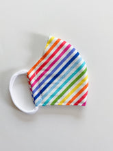Load image into Gallery viewer, Rainbow Stripe Mask