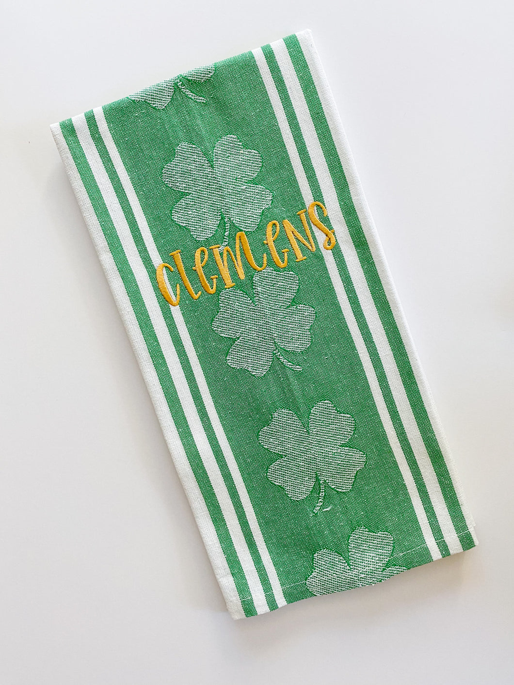 St Patrick's Day Dish Towel