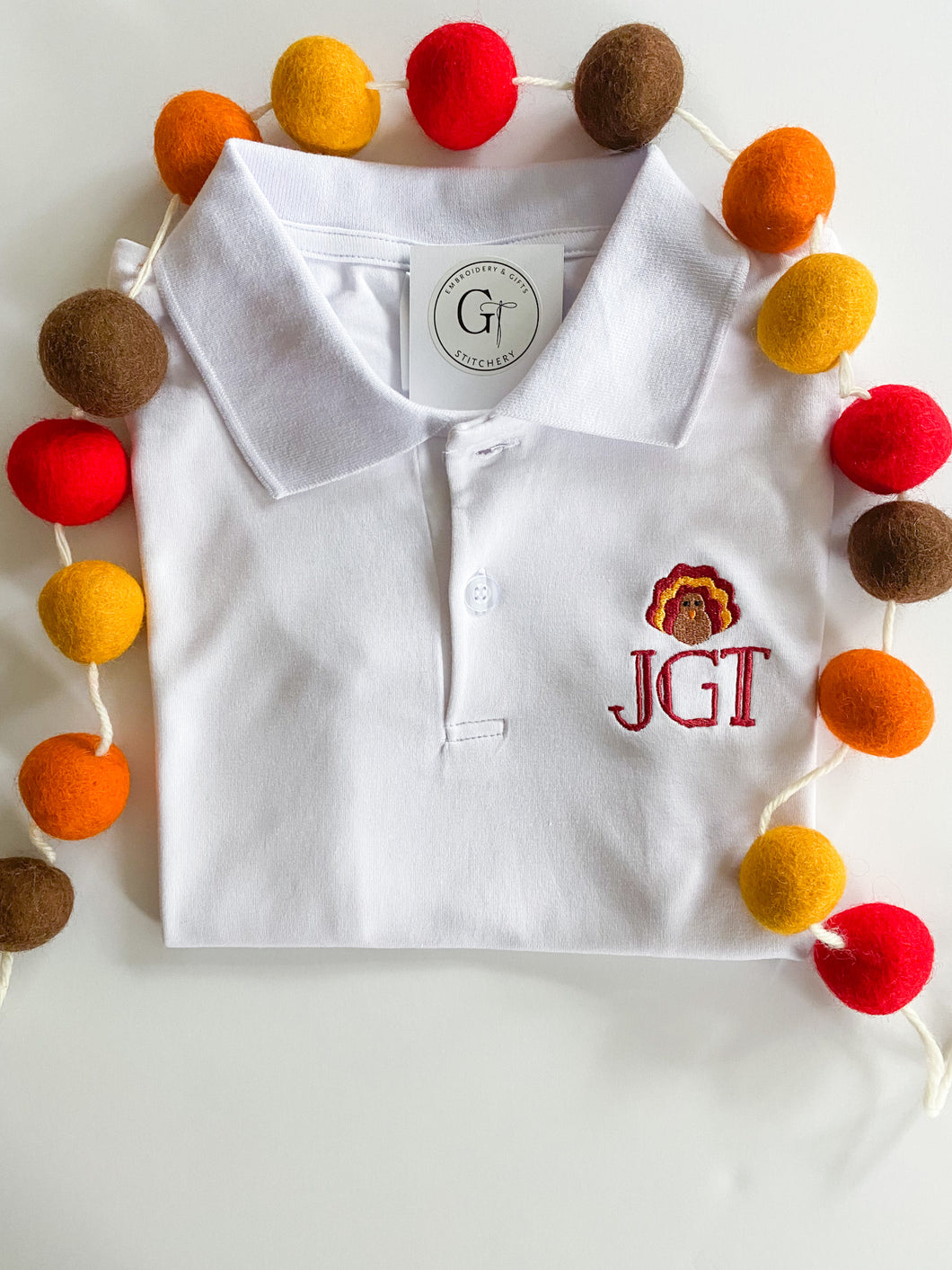 Holiday Short Sleeve Polo