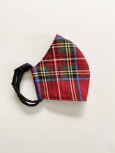Load image into Gallery viewer, Holiday Plaid Mask