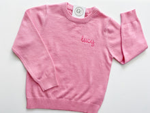 Load image into Gallery viewer, Toddler Crew Neck Sweater