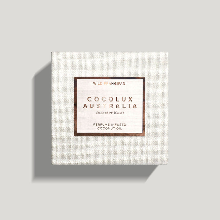 COCOLUX AUSTRALIA - SOL | WILD FRANGIPANI - SMALL COPPER LUXURY CANDLE