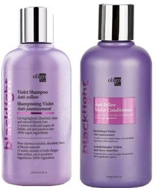 Oligo Professionnel Blacklight Violet Shampoo and Conditioner Set