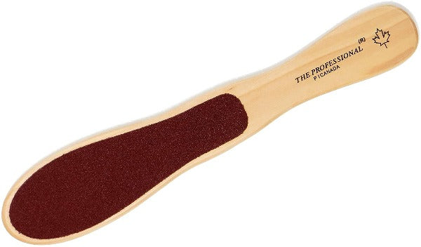 PiCanada THE PROFESSIONAL - Double-Sided Wooden Foot File