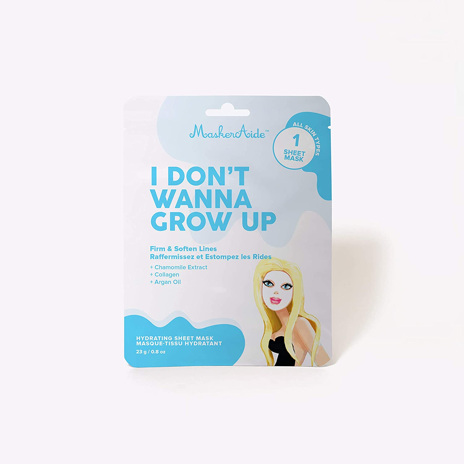 MaskerAide I Don't Wanna Grow Up Firming Sheet Mask, 3 pack