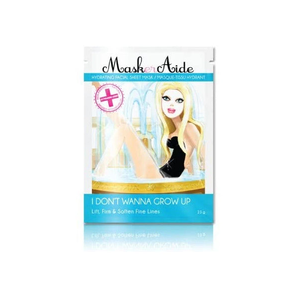 MASKERAIDE I DON'T WANNA GROW UP Facial Sheet Mask 23g