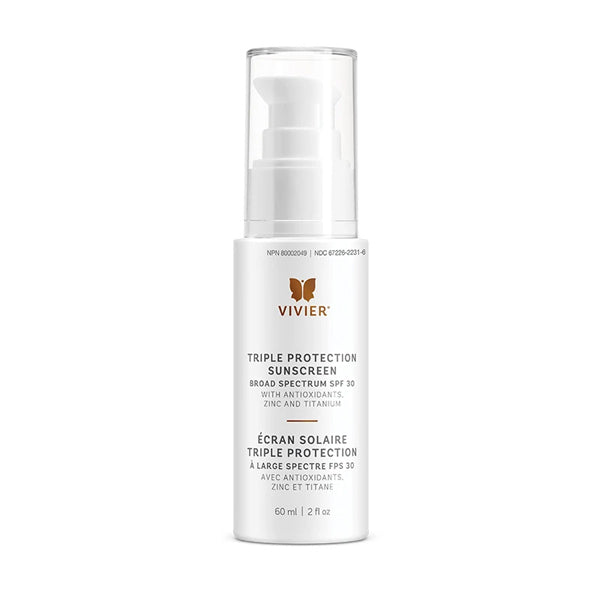 Triple Protection Sunscreen Broad Spectrum SPF30 30mL