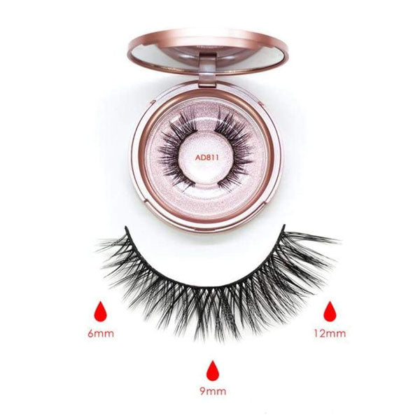 Magnetic Lashes with Liner-AD811