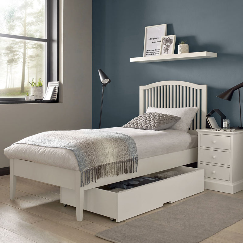 Ashby White 5ft King Size Bed Frame from Upstairs Downstairs Furniture in Lisburn, Monaghan and Enniskillen