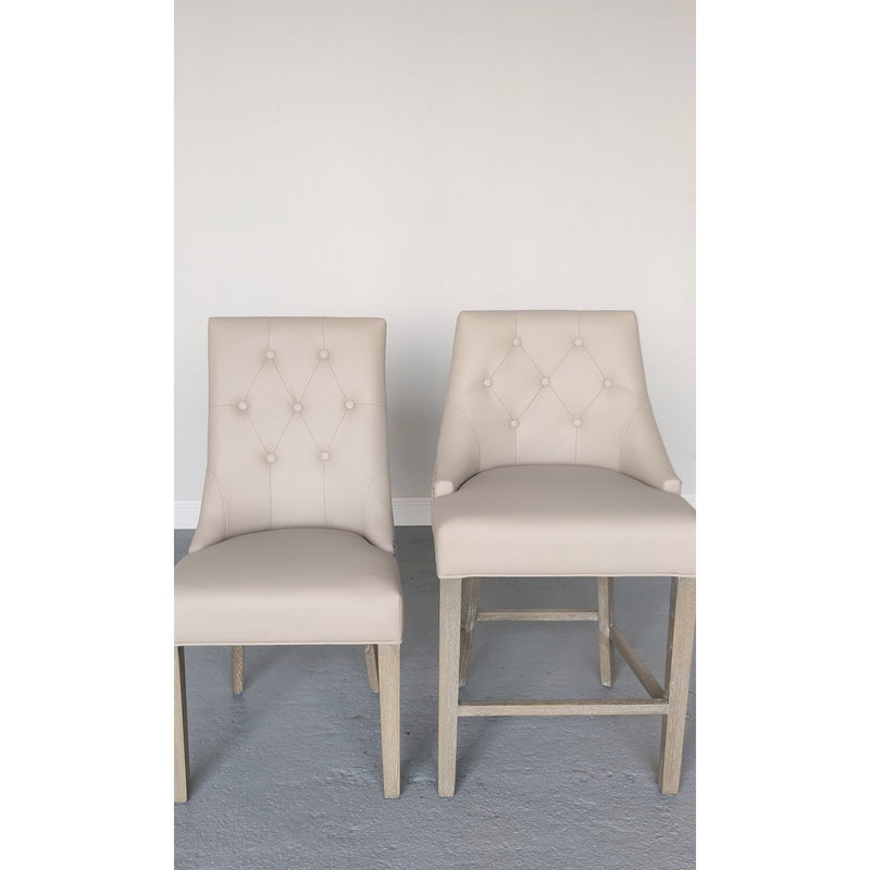 Camilla Stool Faux Leather