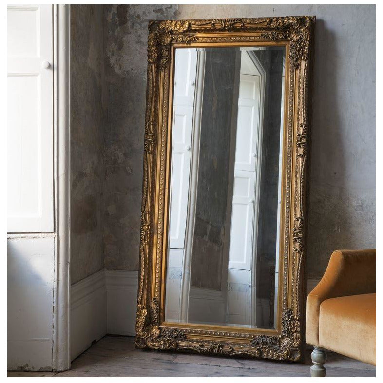 Louis Leaner Mirror Gold from Upstairs Downstairs Furniture in Lisburn, Monaghan and Enniskillen