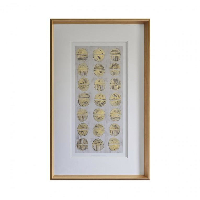 Gold Fossil Art