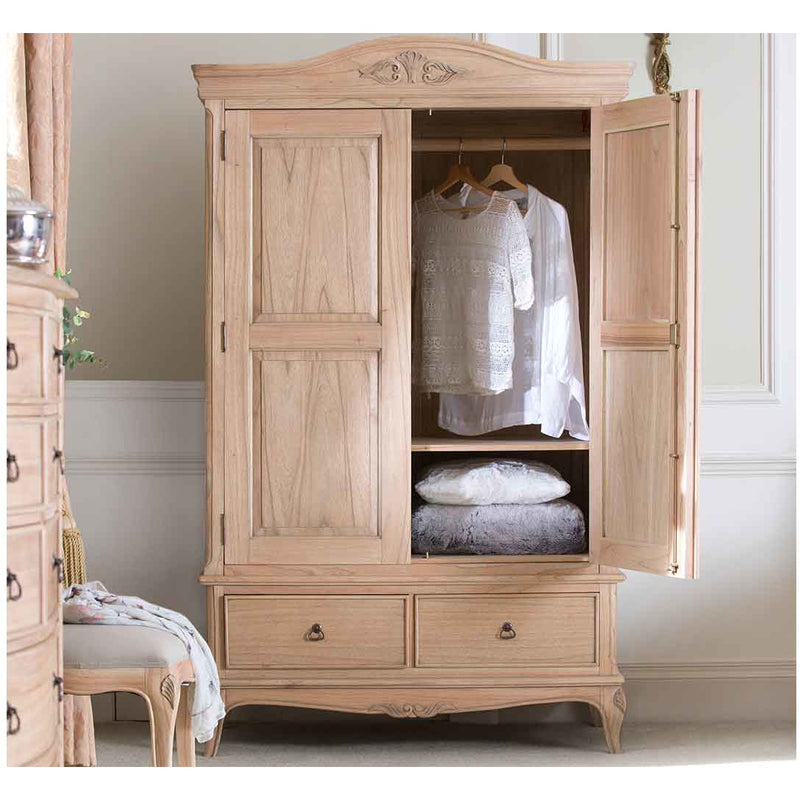 Limoges Double Wardrobe from Upstairs Downstairs Furniture in Lisburn, Monaghan and Enniskillen