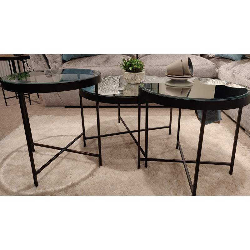 Manhattan Trio Of Coffee Tables from Upstairs Downstairs Furniture in Lisburn, Monaghan and Enniskillen