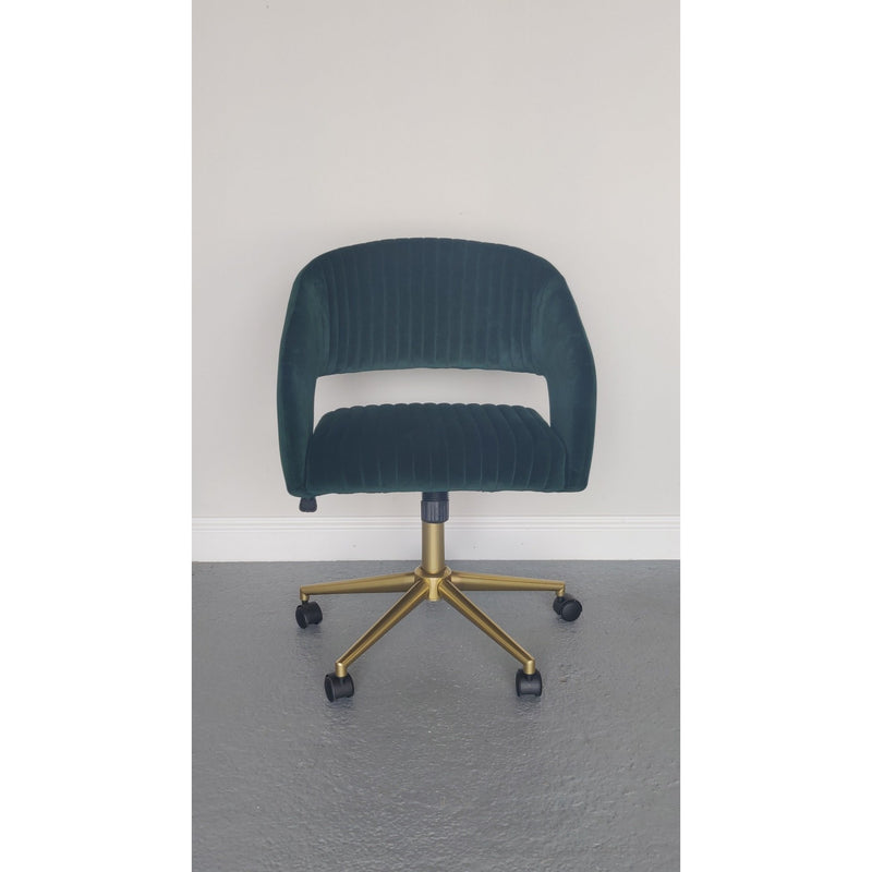Murray Swivel Chair Emerald
