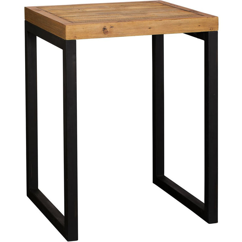square bar table rustic wood