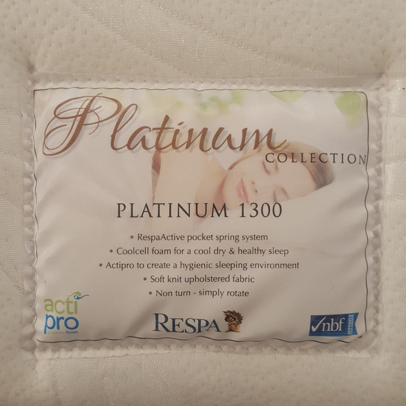 Platinum 1300 5ft King Mattress from Upstairs Downstairs Furniture in Lisburn, Monaghan and Enniskillen