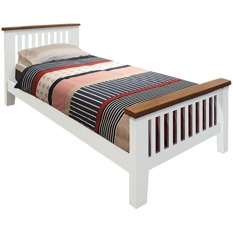 white boys bed frame for boys room