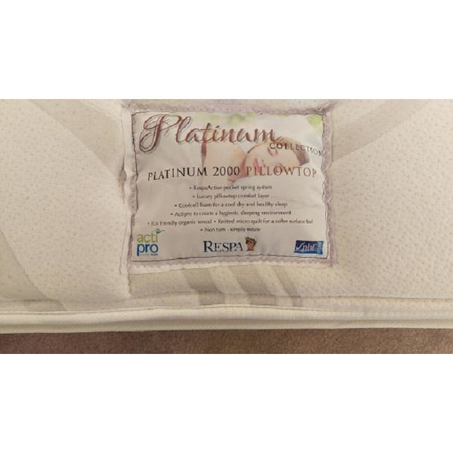 Respa Platinum 2000 5ft King Mattress from Upstairs Downstairs Furniture in Lisburn, Monaghan and Enniskillen