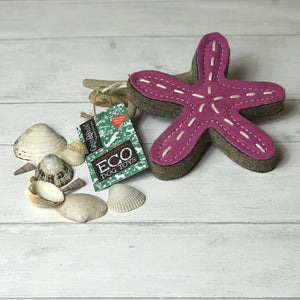 Green and Wilds Stanley the Starfish Eco Dog Toy