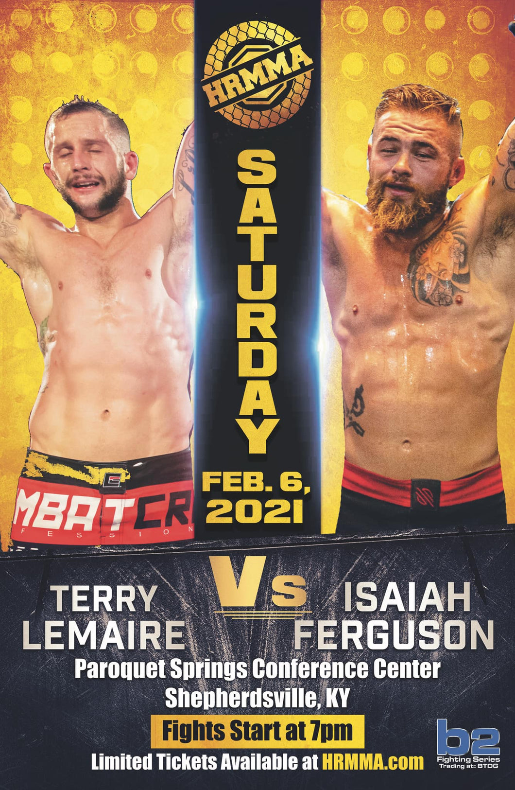 HRMMA 117 PPV - Shepherdsville, KY Feb 6th
