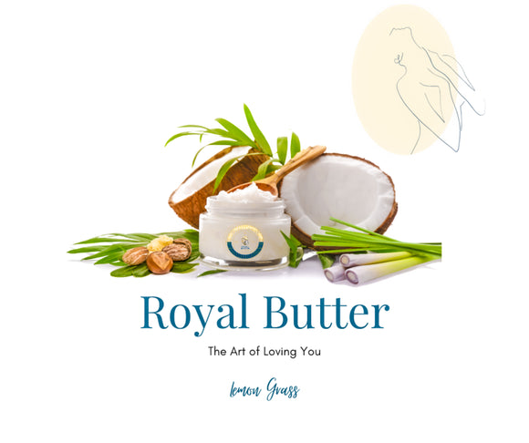 Refreshing Lemongrass Body Butter