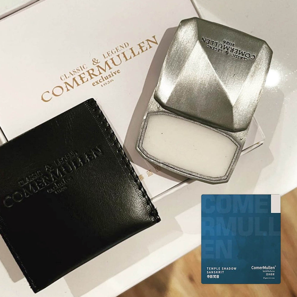 Shadow - Papyrus, Iris & Sandalwood Solid Cologne - Monsieur Solide