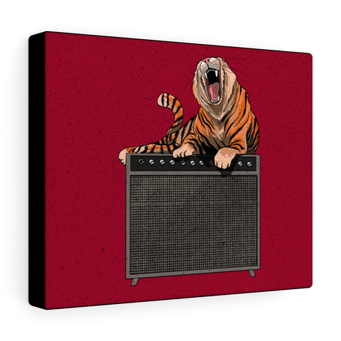 Tiger on Amp Canvas Gallery Wraps