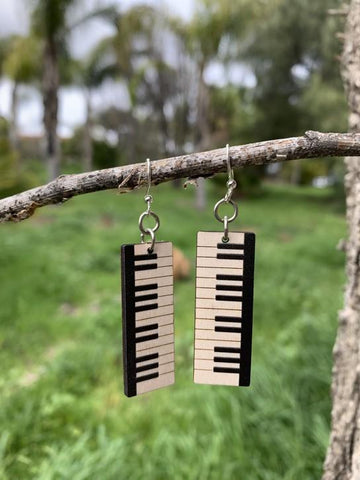 Piano Key Earrings # 1470