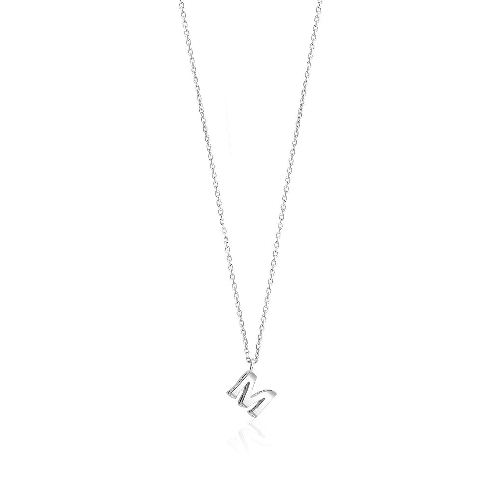 Double Side Initial Necklace | Personalized