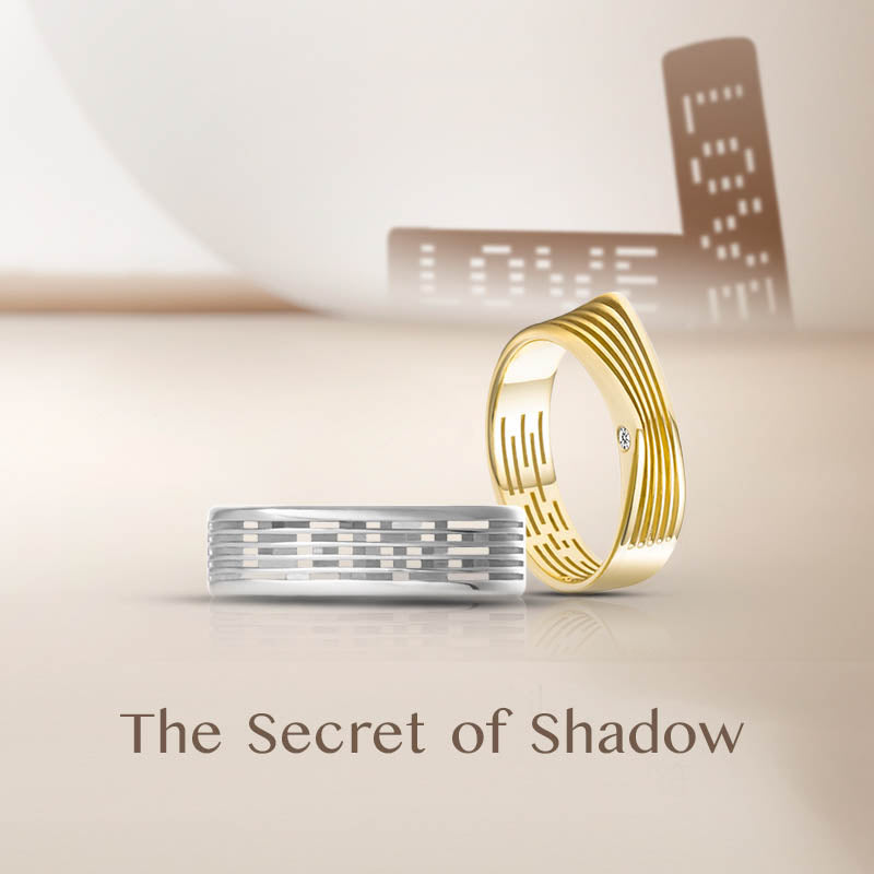The Secret of Shadow Dunes Rings | Couple Rings