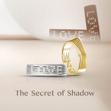 Load image into Gallery viewer, The Secret of Shadow Dunes Rings | Couple Rings