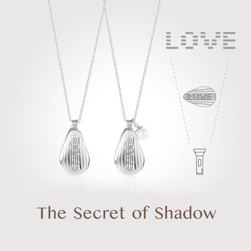 The Secret of Shadow Shell Necklace | Personalized