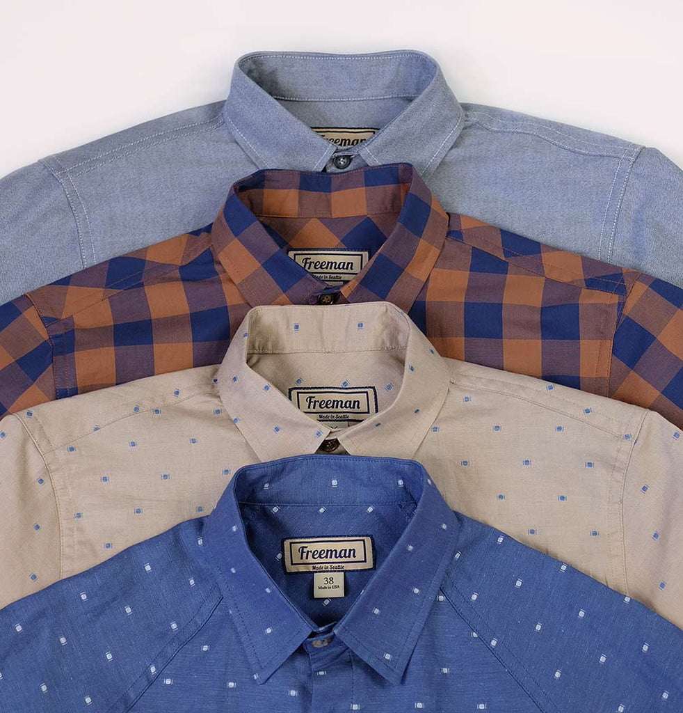 Spring Button-Downs from Freeman