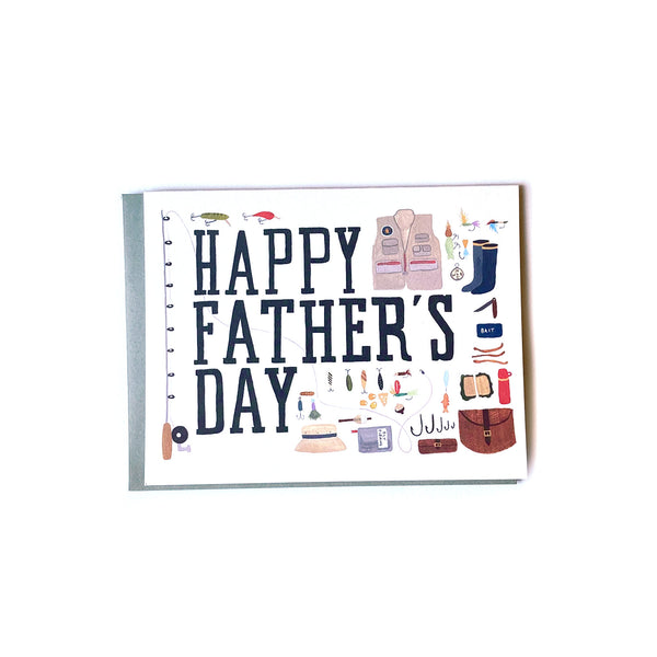 Fishing Trip - Father's Day Card