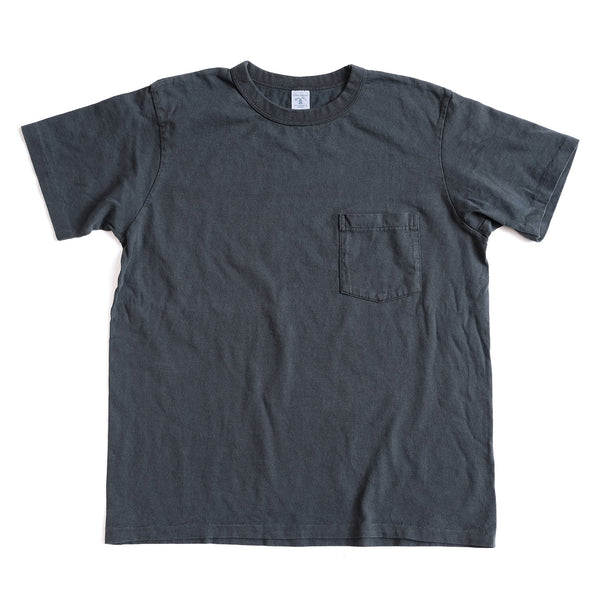 Pigment Dyed Pocket Tee - Black