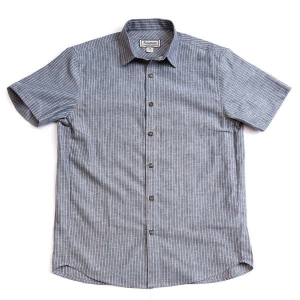 Short Sleeve Weathervane - Schooner Stripe