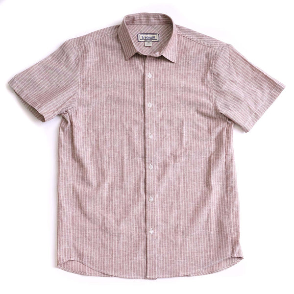 Short Sleeve Weathervane - San Juan Stripe