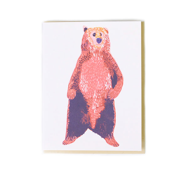 Bear - Any Occasion Card