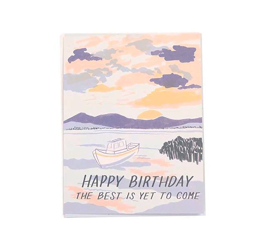 Sailboat - Birthday Card