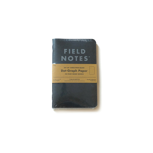 Pitch Black 3-Pack - Dot Paper