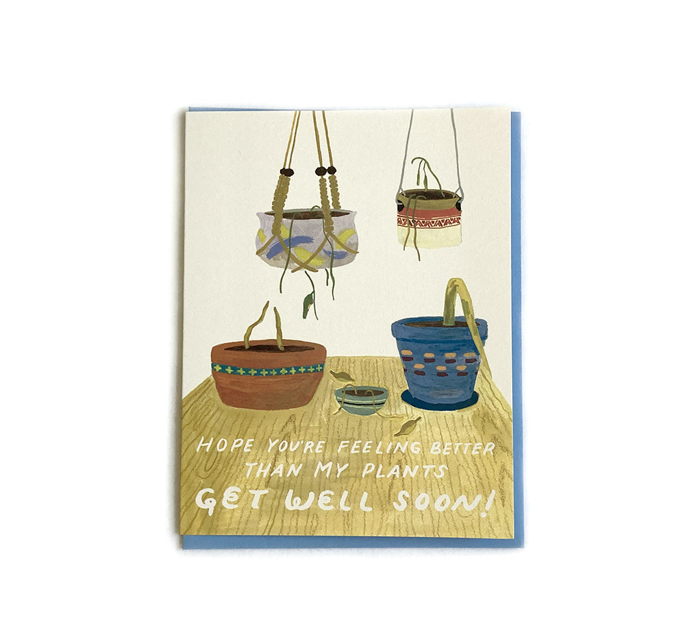 Get Better Soon - Love and Friendship Card