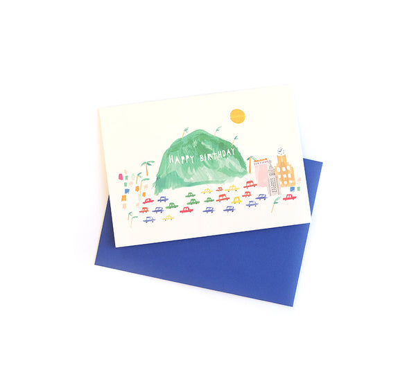 West Coast Wishes - Birthday Card