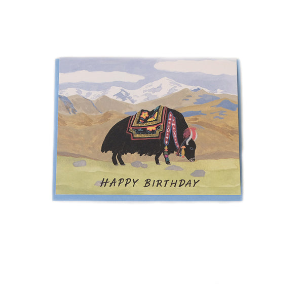 Yakky Birthday - Birthday Card
