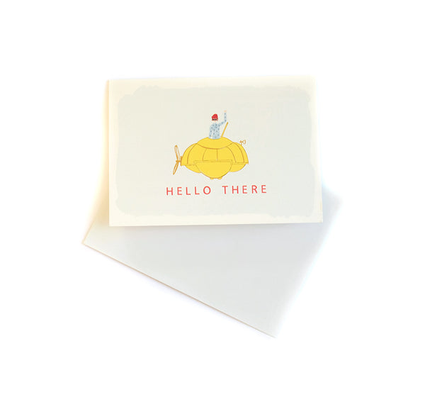 Hello Sailor - Love and Friendship Card