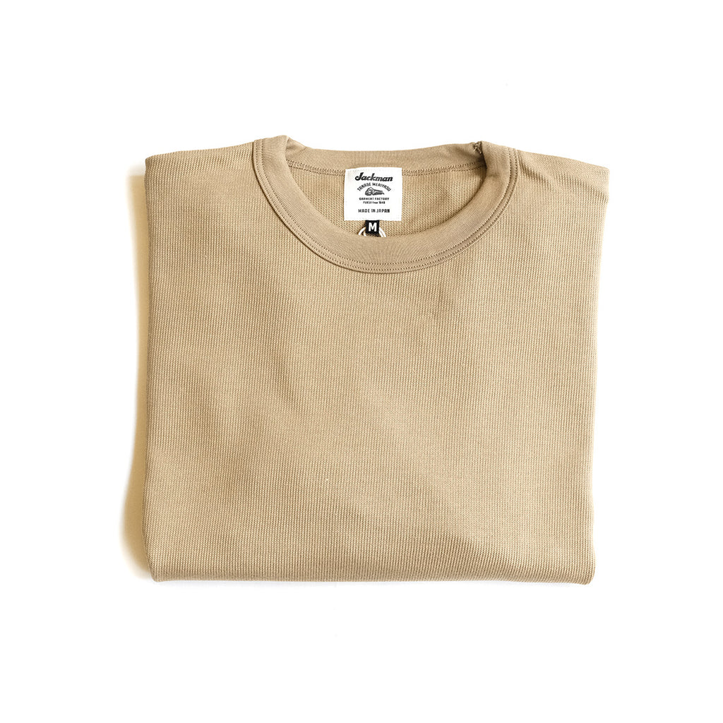 Knit Crewneck - Tan