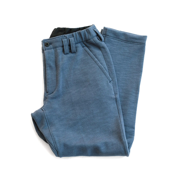Knit Trousers - Ash Blue